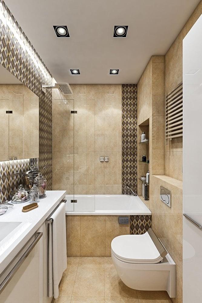 Мебель в современном дизайне ванной комнаты - часть 1