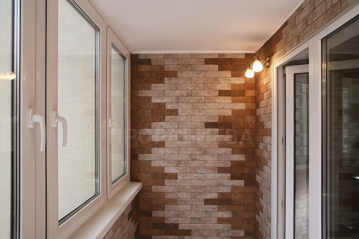 Стиль лофт в интерьере балкона