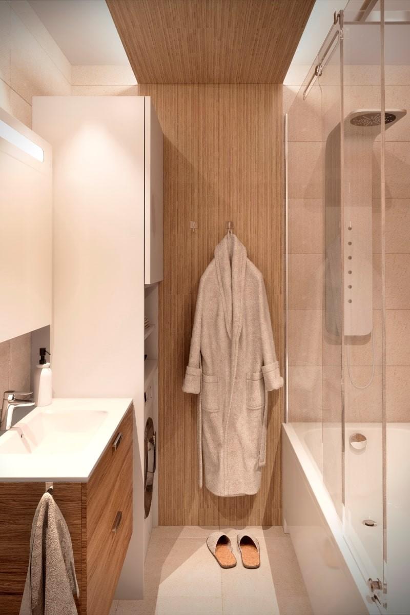 Эко-стиль в дизайне ванной комнаты - часть 1