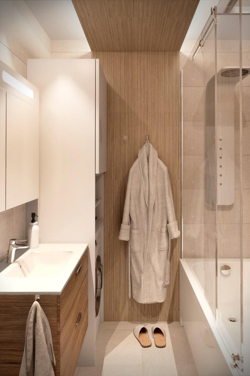 Планирование пространства в маленькой ванной комнате - часть 1