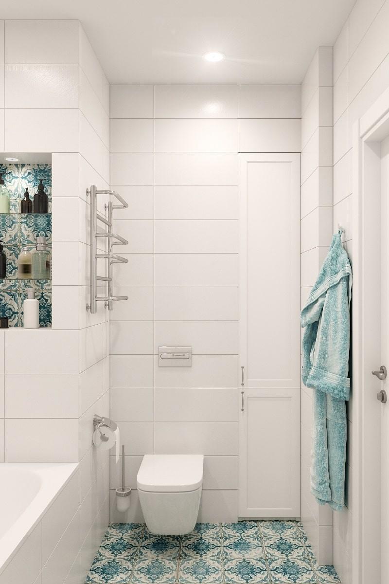Дизайн маленькой ванной комнаты, совмещенной с туалетом - часть 1