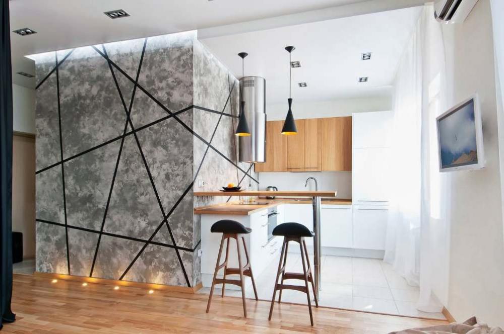 Интерьер квартиры-студии – гид по стилям
