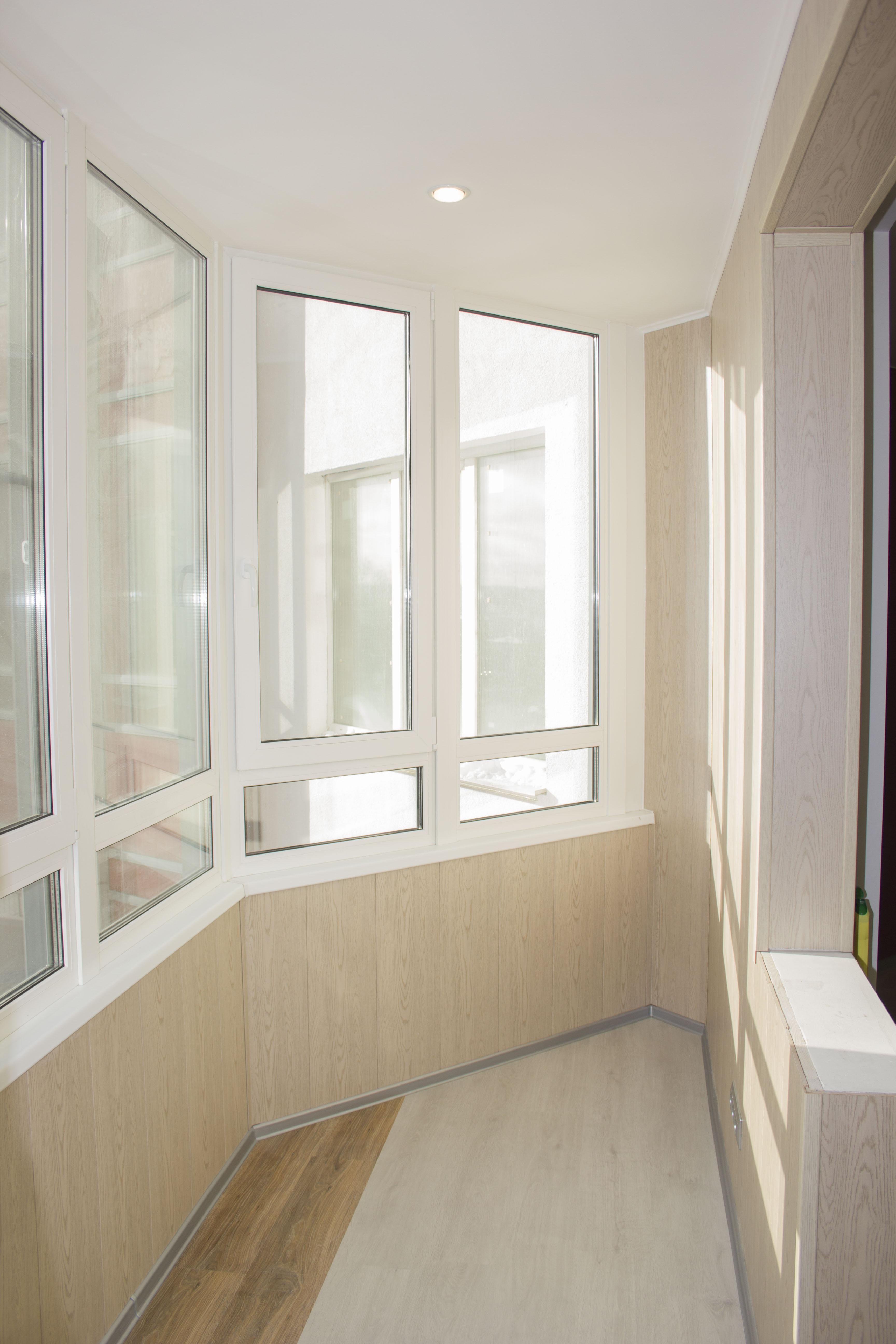 Ремонт балкона с утеплением - Прораб Нева